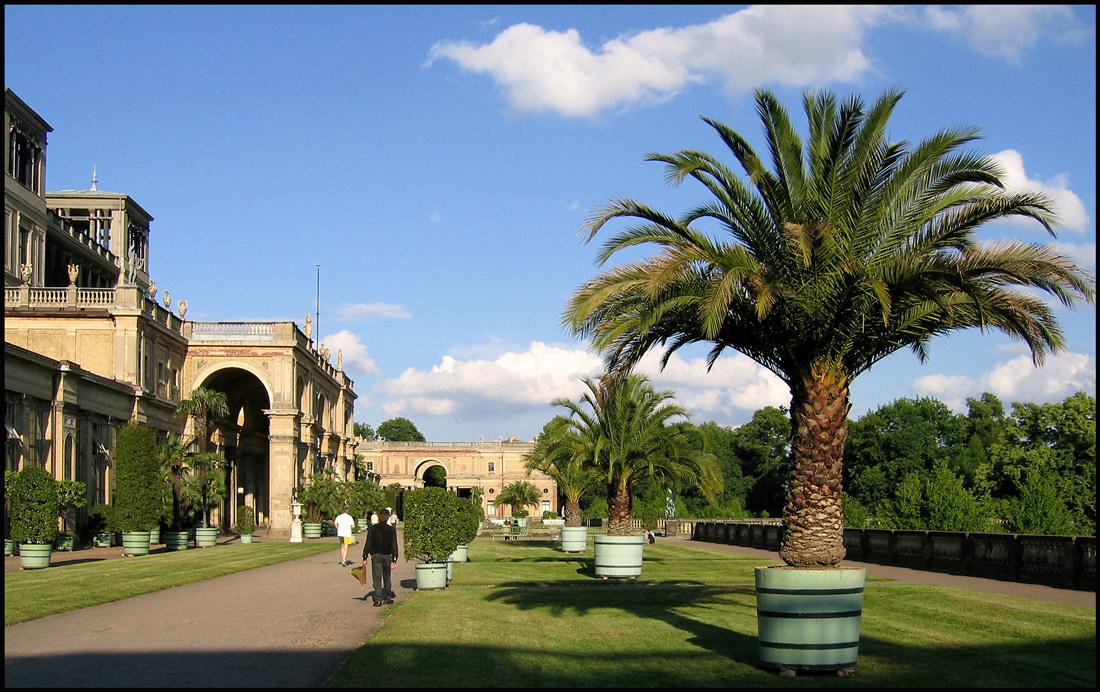 Sommerabend im Park Sanssouci
