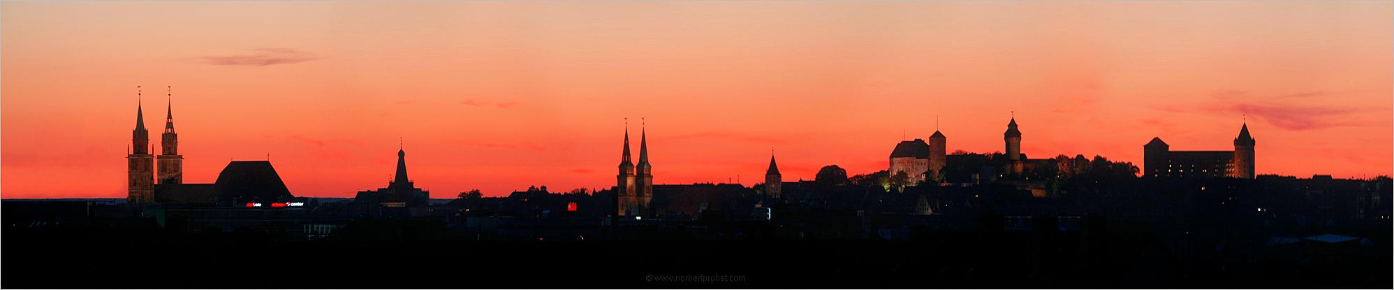 Sommerabend in Nürnberg