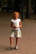Sommerkind mit rotem Haar