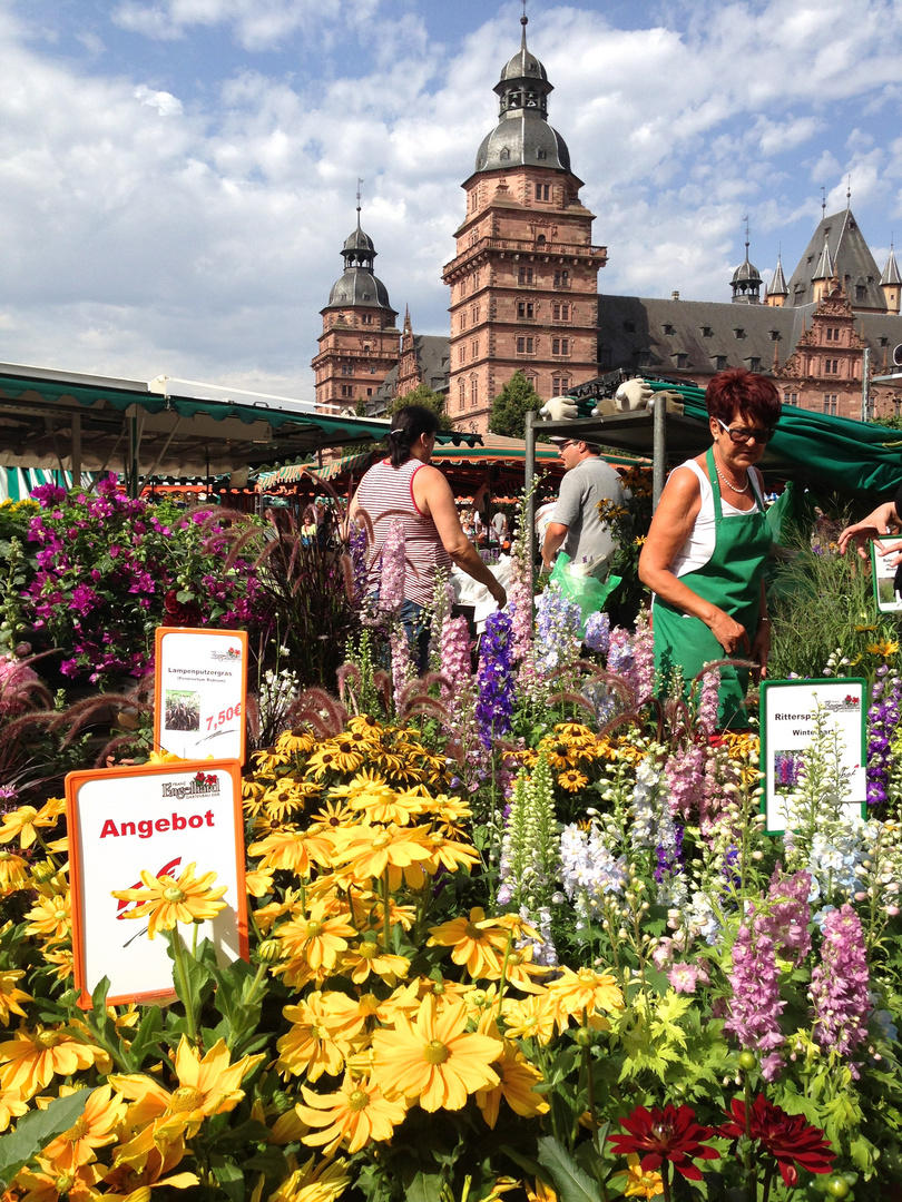 Sommerliches Markttreiben