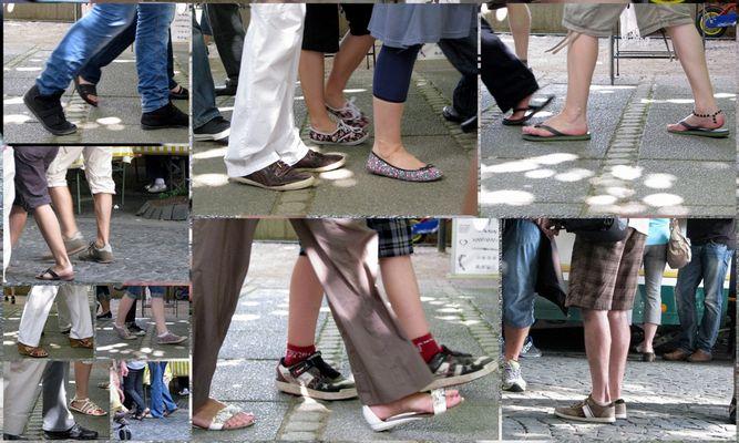 Sommerliches Schuhwerk