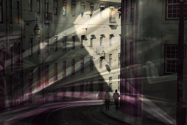 Sommerlicht in Lissabon