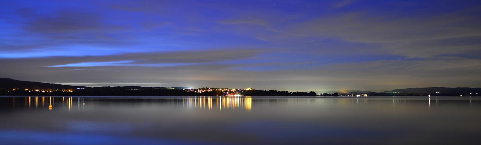 Sommernacht am Bodensee
