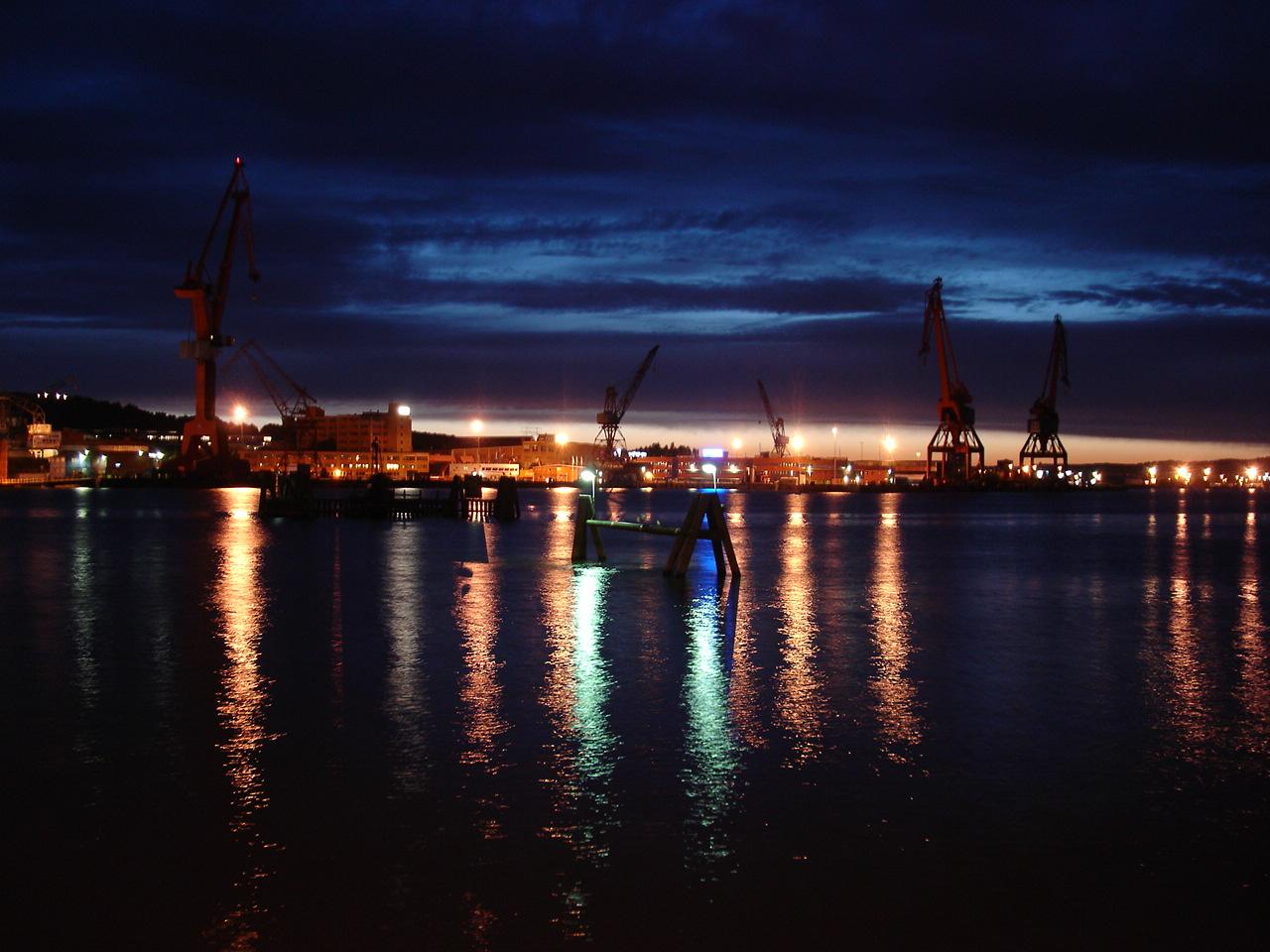 Sommernacht in Göteborg