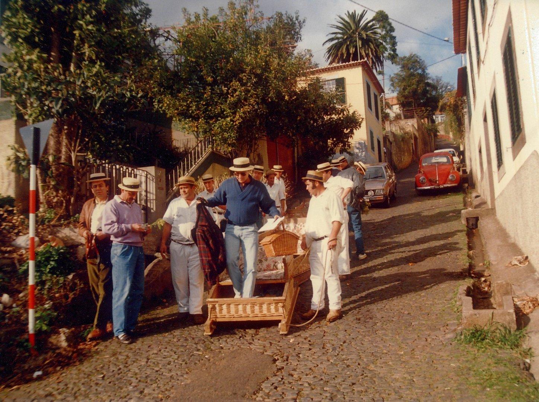 Sommerschlittenfahrt - Madeira