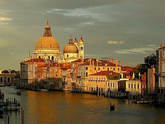 Sommersehnsüchte....Venedig m. Abendwolkenstille