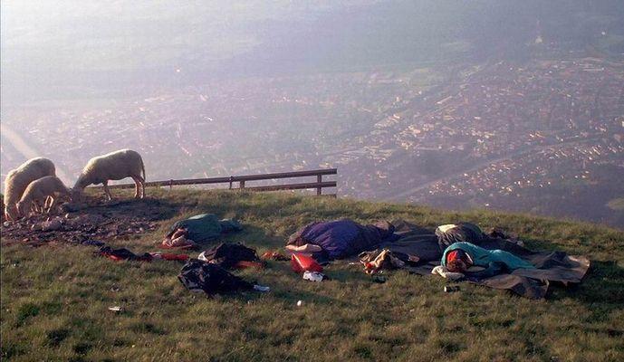 Sommersonnenwend WE 2003 in Innsbruck