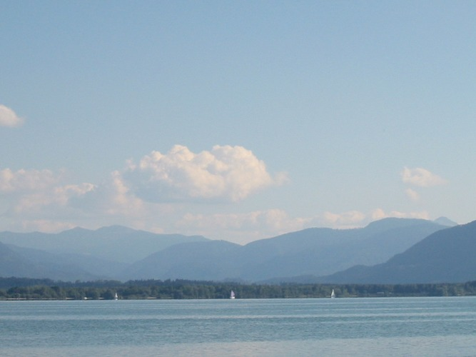 Sommertag am Chiemsee
