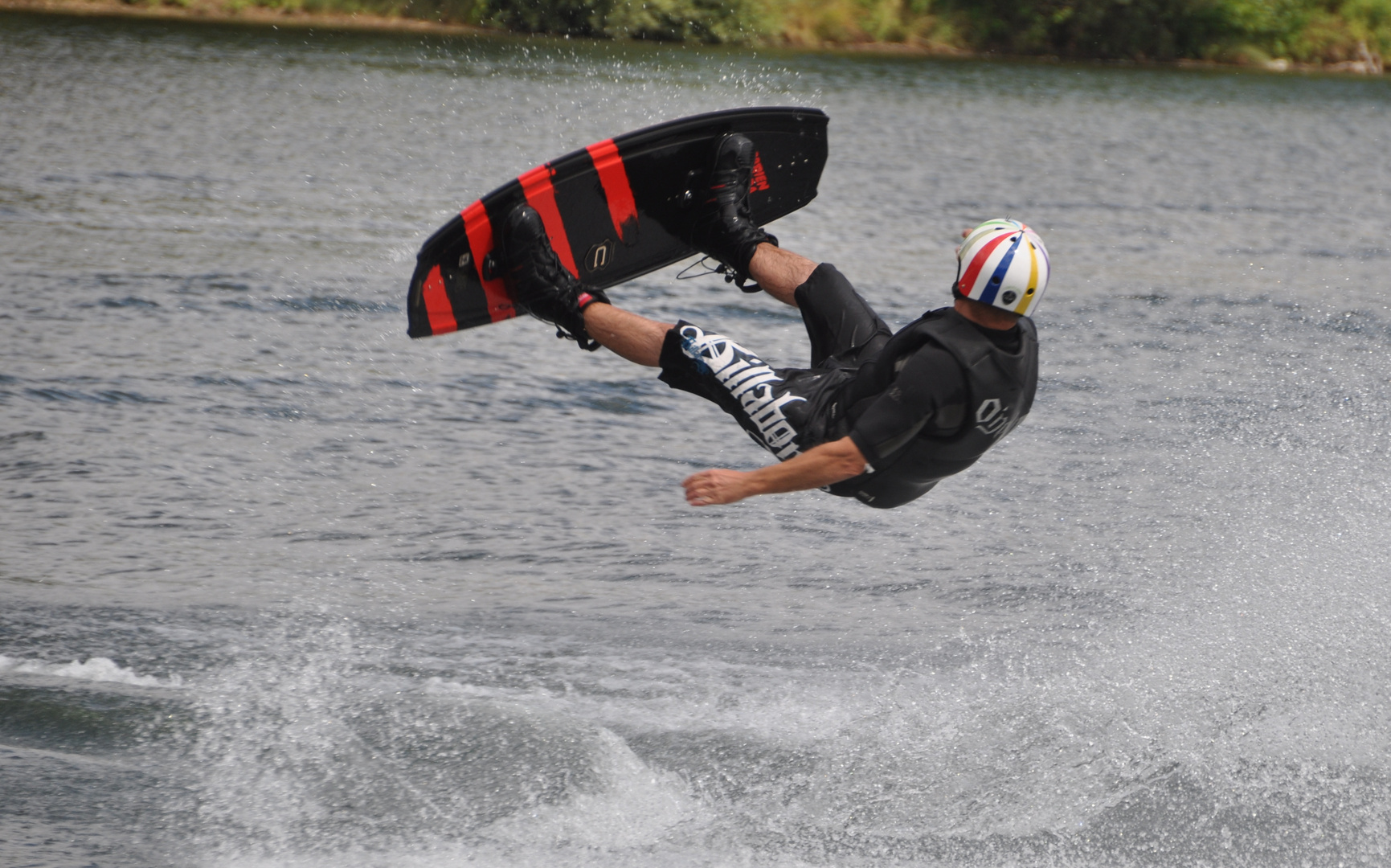 Sommerurlaub 2010 - Wasserski fahren (2)