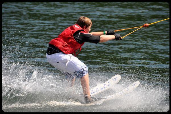 Sommerurlaub 2010 - Wasserski fahren