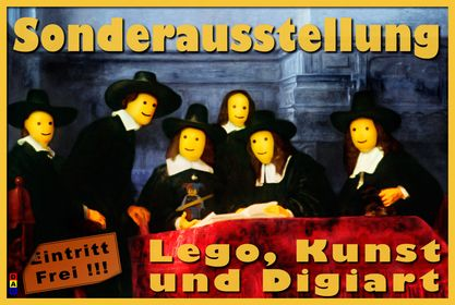 028 - Plakat mit Lego