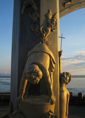 sonderbare Skulptur