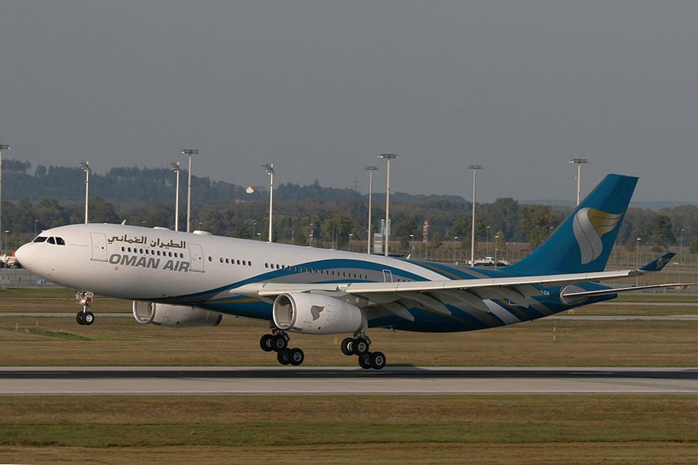 SONDERBEMALUNG - OMAN AIR - A330