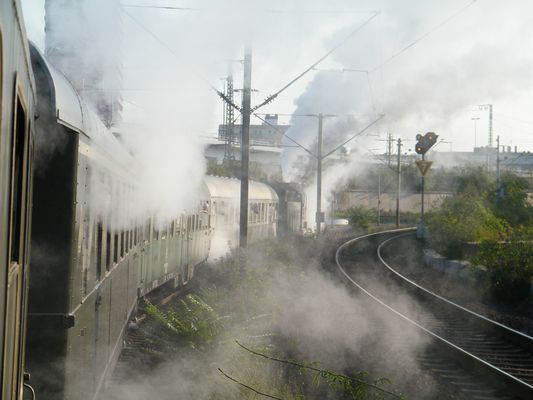 Sonderfahrt mit viel Dampf