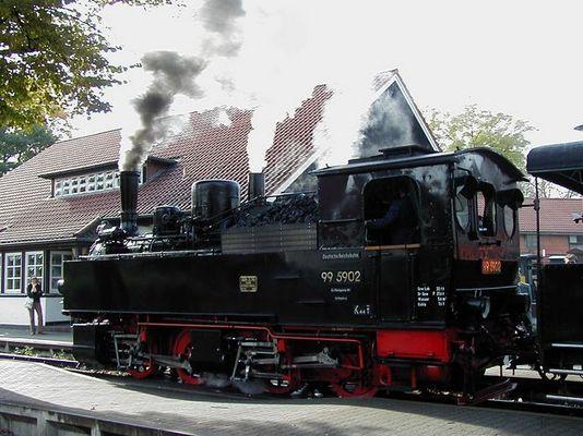 Sonderfahrt von Wernigerode nach Gernrode/Harz