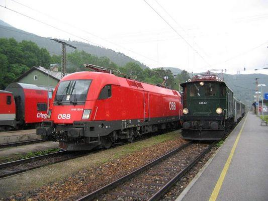 Sonderzug in Payerbach-Reichenau