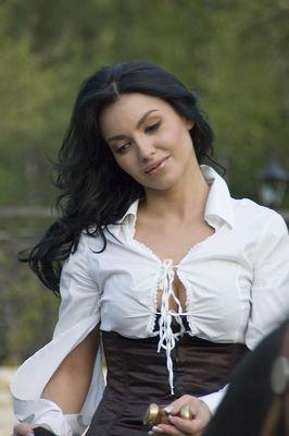 Songstress in Kazakstan (Almaty)