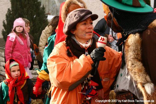 Sonja Schrecklein vom SWR beim OHA Treffen in Herbertingen