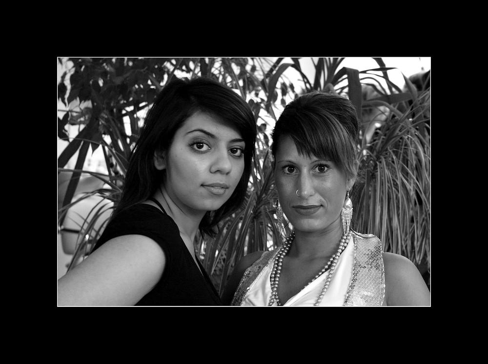 Sonja und Jessica ...