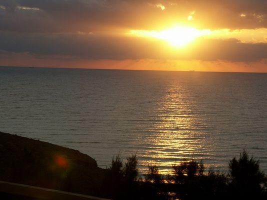 Sonnaufgang am 15.11.2004 Fuerteventura