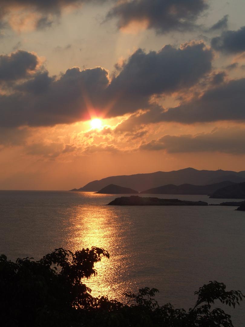 Sonnaufgang auf Kreta