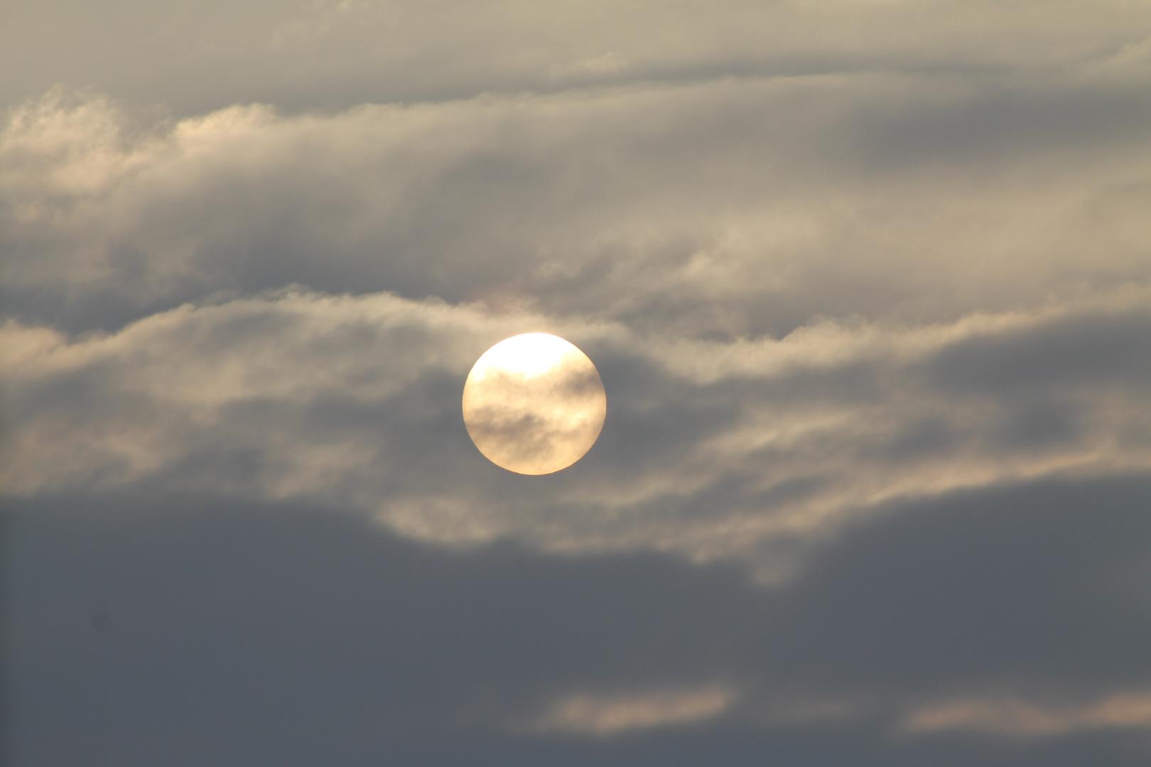 Sonne am 25.01.2013