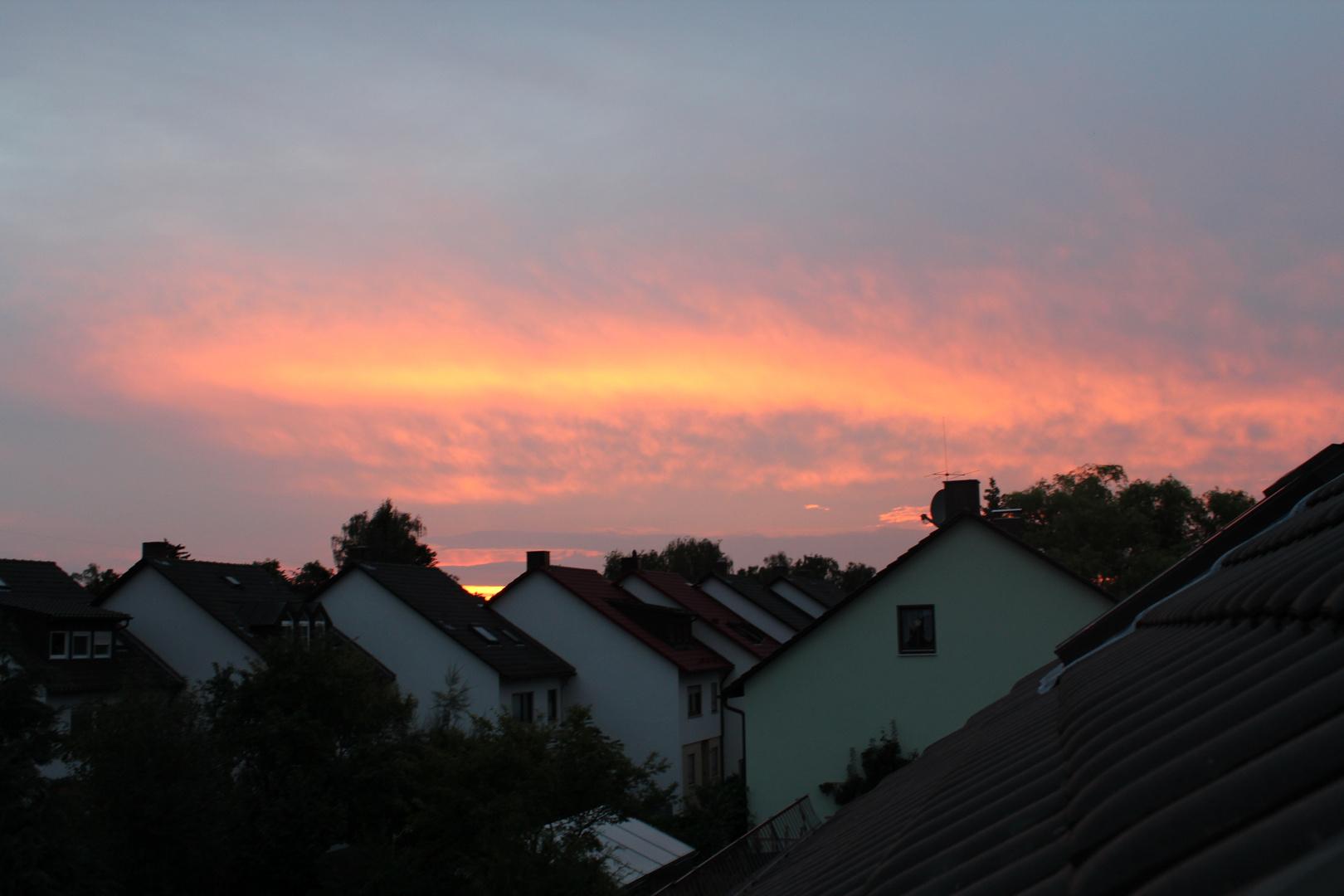 Sonne am Abend :)