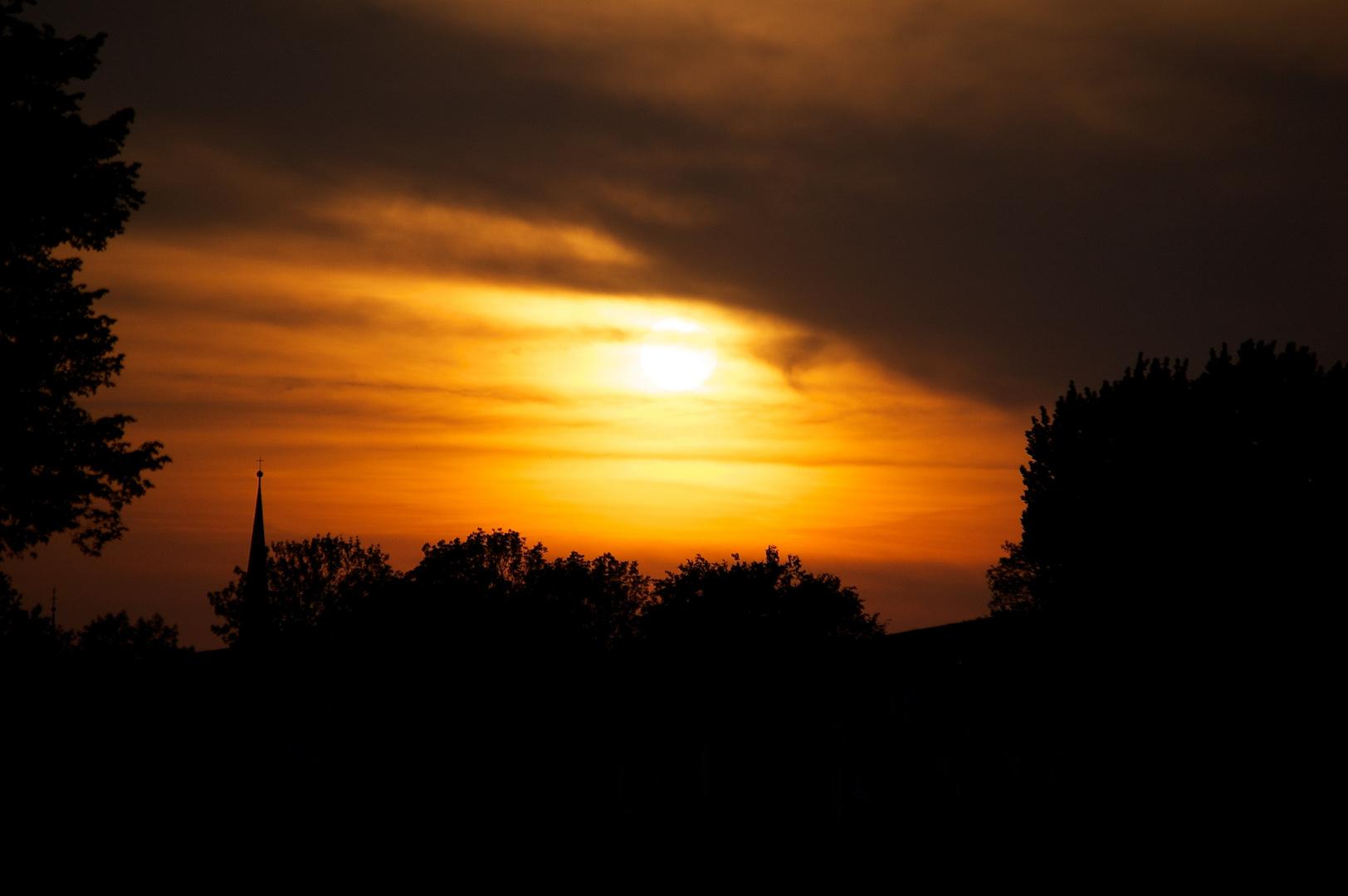 Sonne am Ende