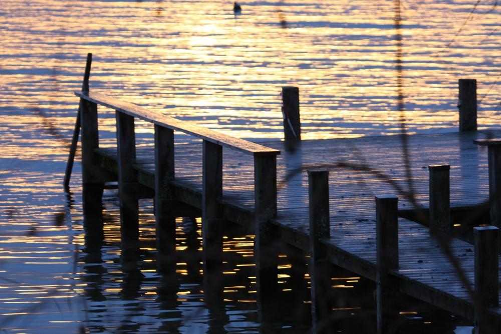 Sonne am Starnberger See
