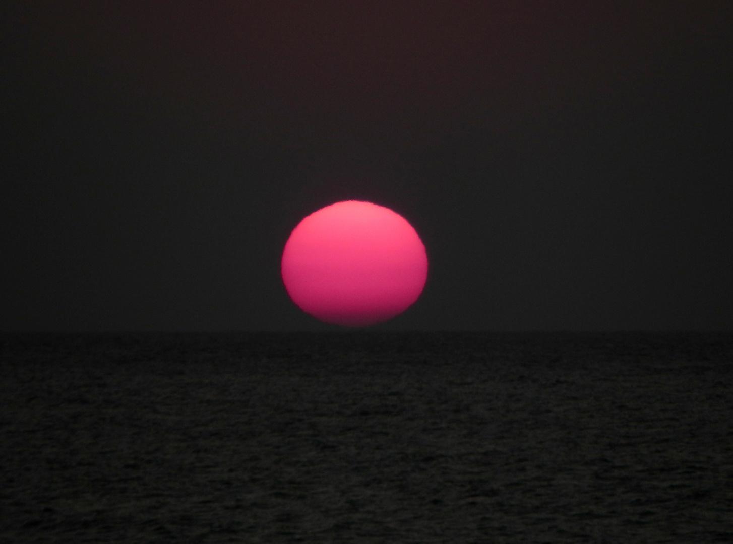 Sonne auf dem Meer