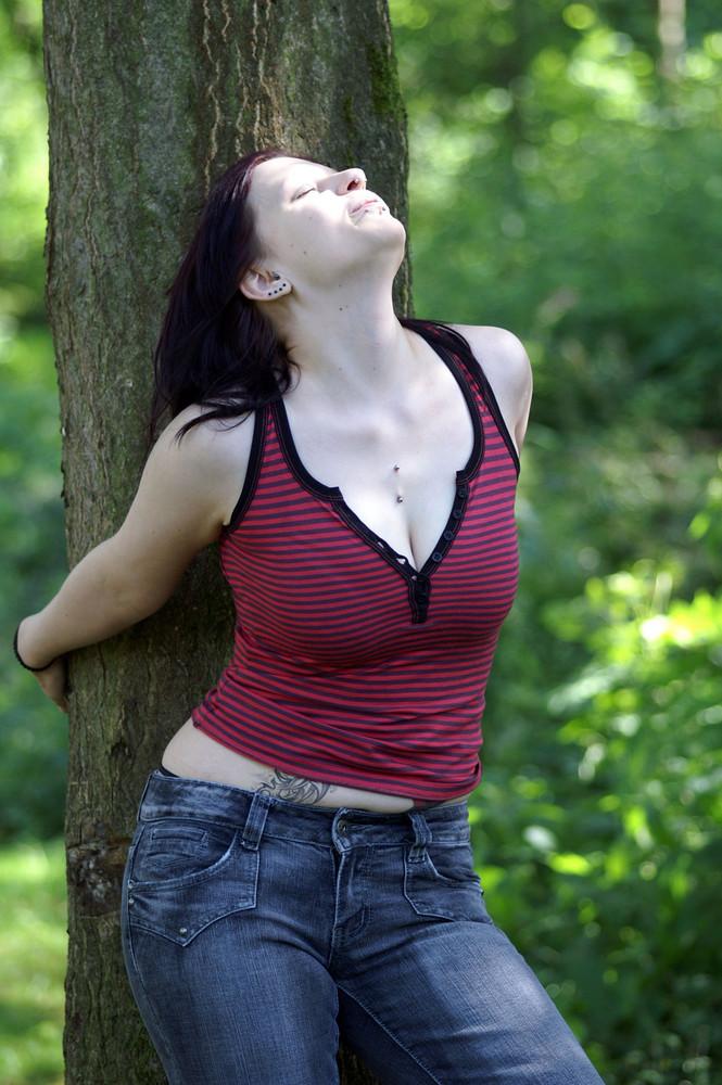 Sonne, Baum und gute Laune