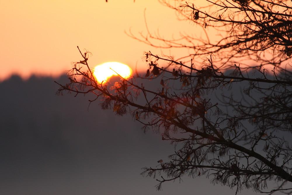 Sonne bricht sich Bahn