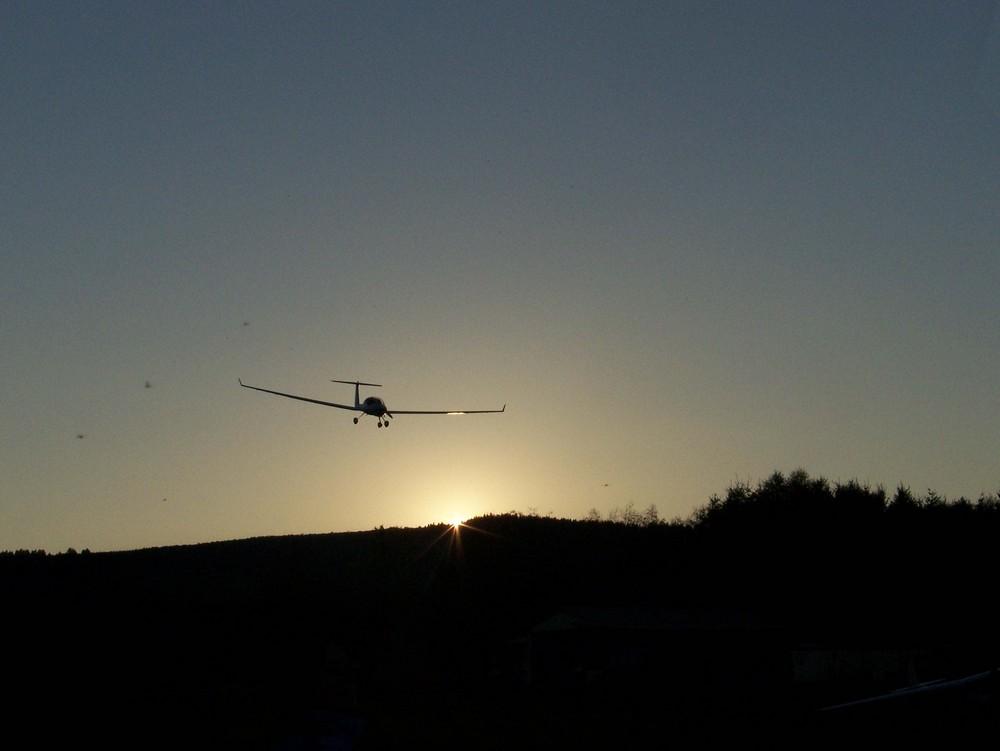 Sonne entgegen