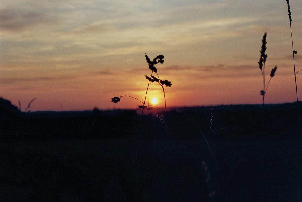 Sonne hinter Dortmund