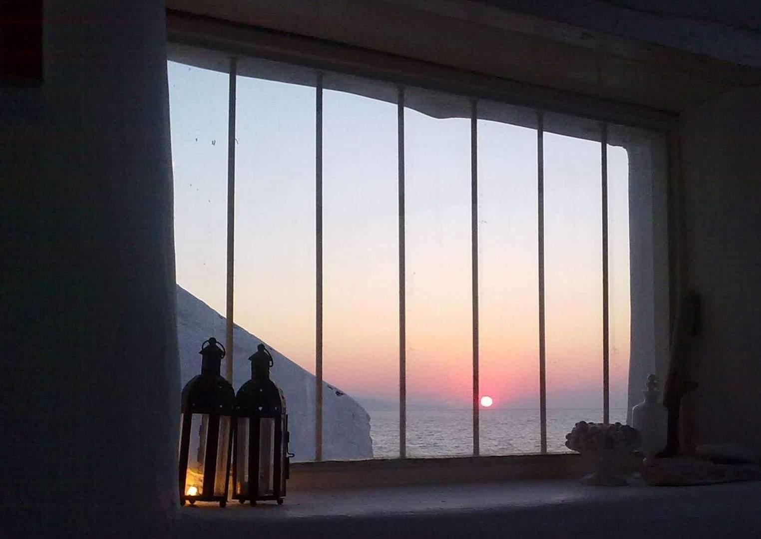 Sonne hinter Gittern