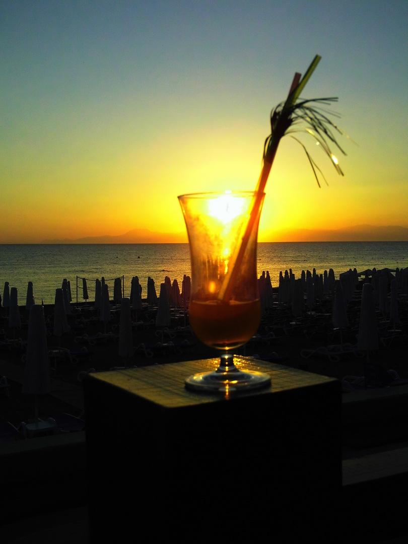 Sonne im Glas