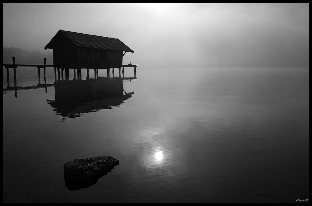 Sonne im See..........