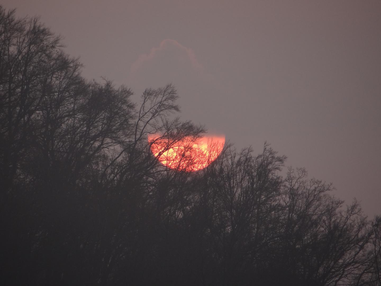 Sonne im Sparmodus