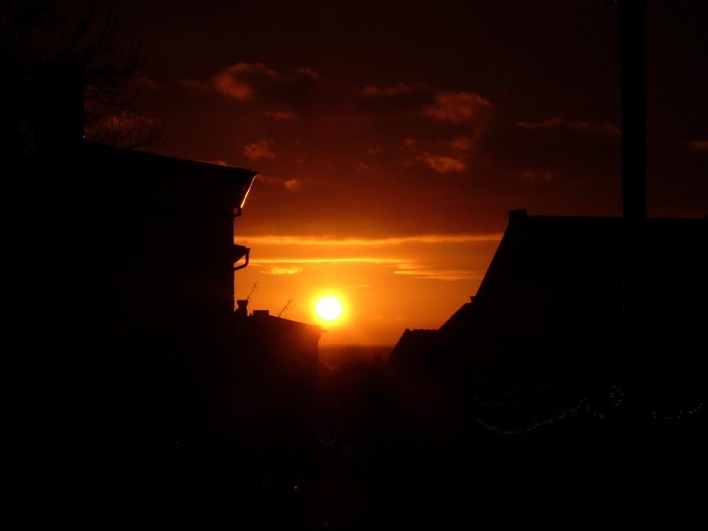 Sonne in Binz