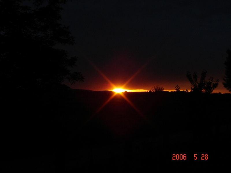 Sonne in der Nacht
