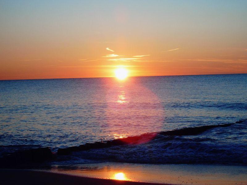 Sonne in Sylt