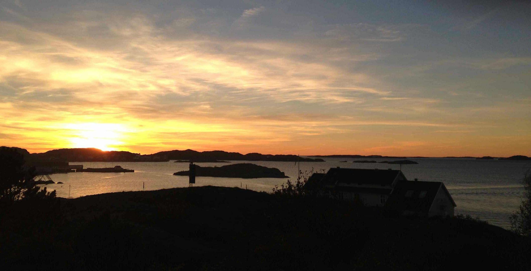 Sonne in West-Schweden