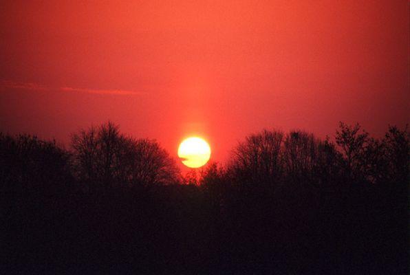 Sonne mit Auswuchs