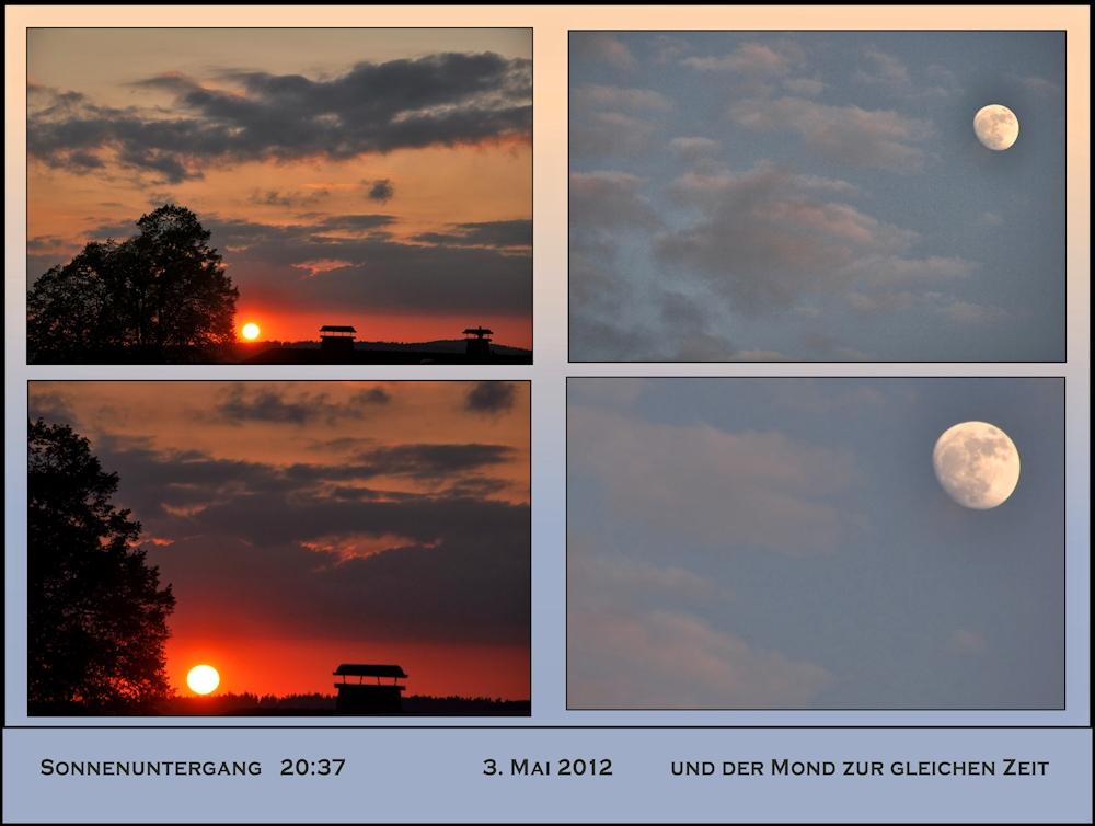 Sonne + Mond  HEUTE