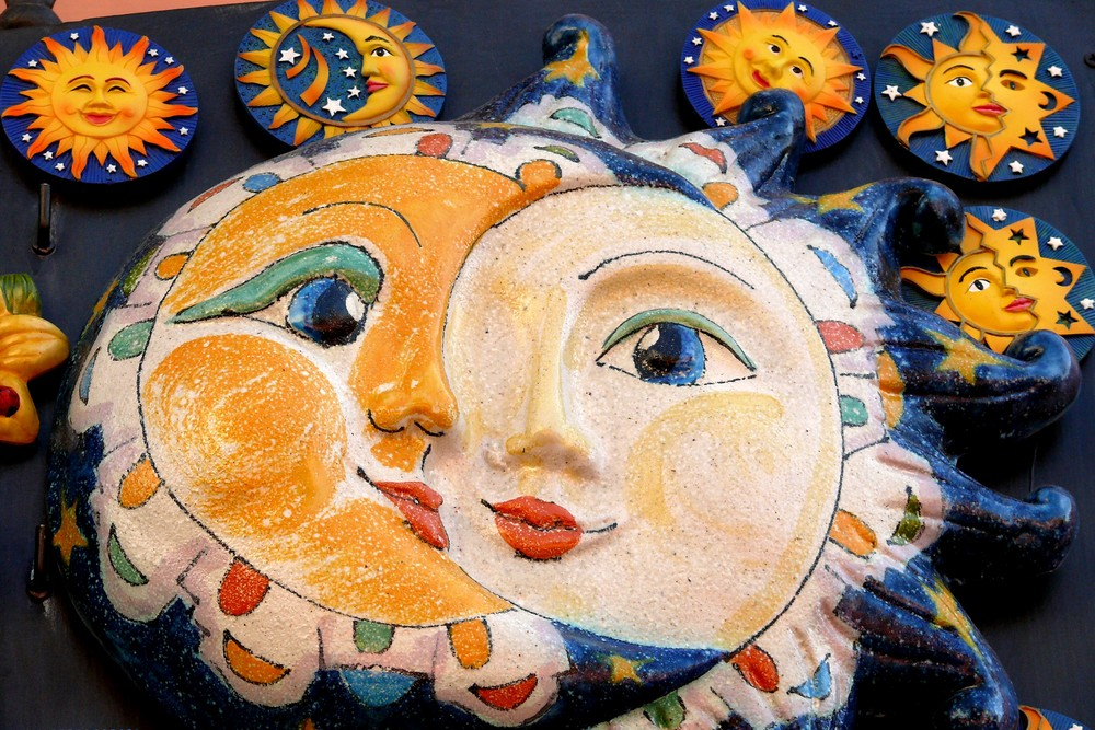 Sonne, Mond und Sterne ....