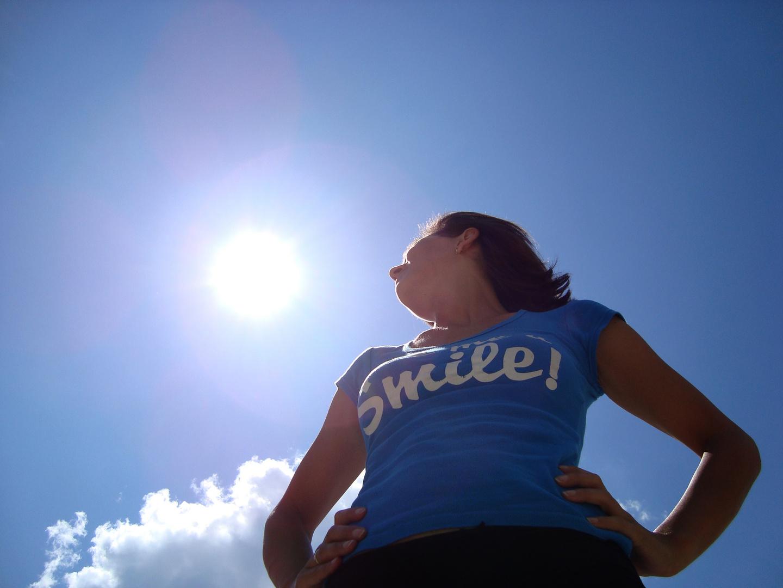 Sonne scheint, Himmel lacht