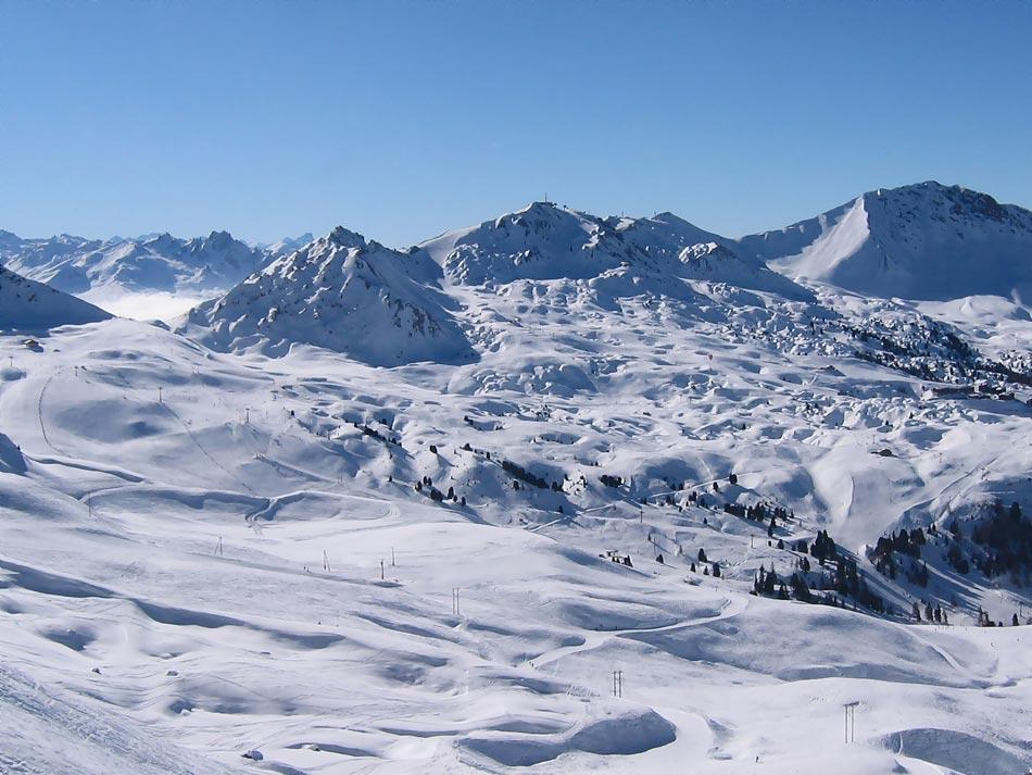 Sonne, Ski, Schnee - was will man mehr
