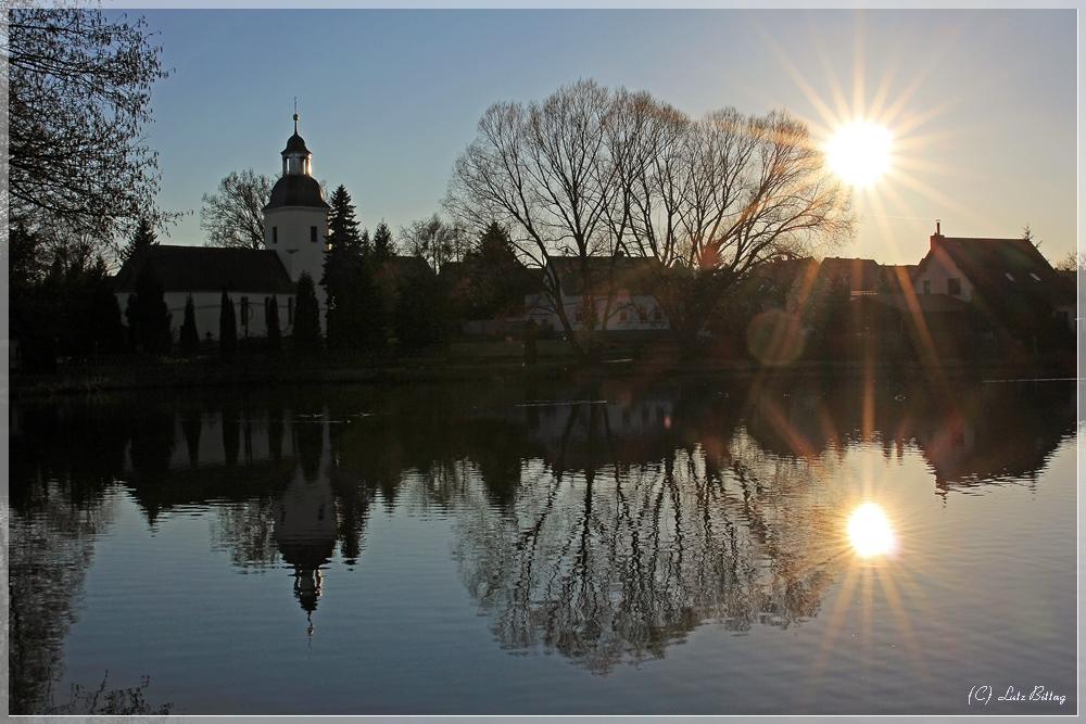 Sonne über Dahlenberg