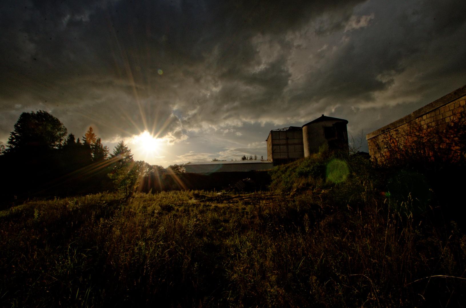 Sonne über Kalki