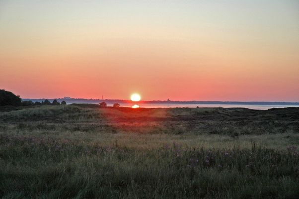 Sonne über Keitum